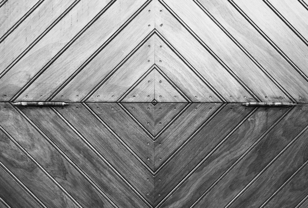 Public Domain Images Wood Door Black and White Lines