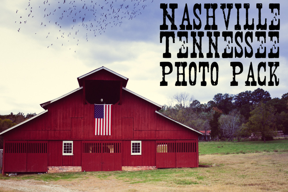 Public Domain Images – Nashville Tennessee – Red Barn